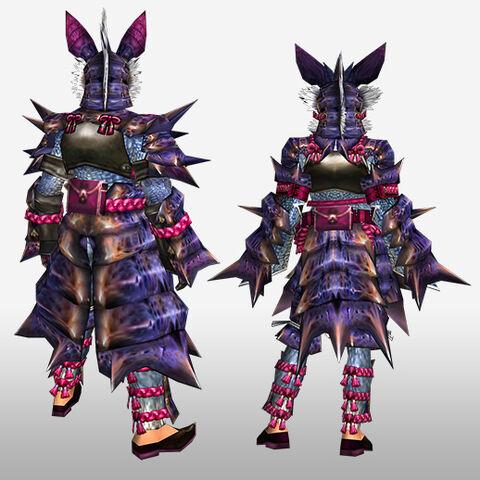 File:FrontierGen-Garuga G Armor (Blademaster) (Back) Render.jpg
