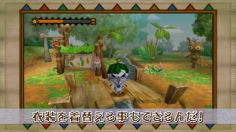 PSP『モンハン日記 ぽかぽかアイルー村』プロモーション映像II