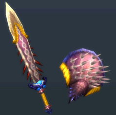MH3U-Sword and Shield Render 017