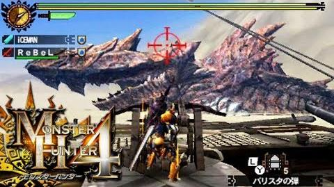 Monster Hunter 4 Nubcakes 27 - Dah'ren Mohran (Attack Up ULTRA) English commentary online gameplay