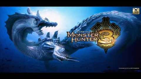 Monster Hunter 3 ( Tri ) Desert Day Sandy Plains - Battle OST ( HD )