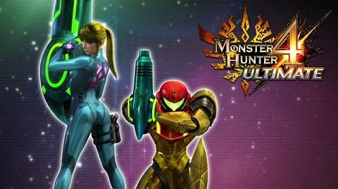 Monster Hunter 4 Ultimate - Metroid collaboration (PEGI)