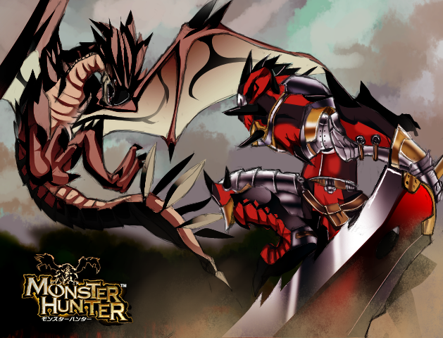 File:Monster Hunter by 4y4m.png