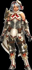 FrontierGen-Regunumu Armor (Female) (Both) (Front) Render 001