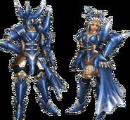 FrontierGen-Torupedo G Armor (Gunner) Render 2