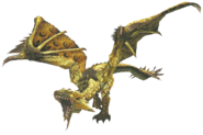 FrontierGen-HC Gold Rathian Render 001 (Edited)