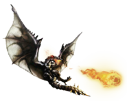 MH4-Silver Rathalos Render 001
