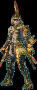 MHO-Plesioth Armor (Gunner) (Female) Render 001