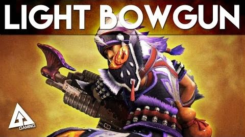 Monster Hunter 4 Ultimate Light Bowgun Tutorial MH4U Basics