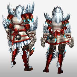 FrontierGen-Disu G Armor (Blademaster) (Back) Render