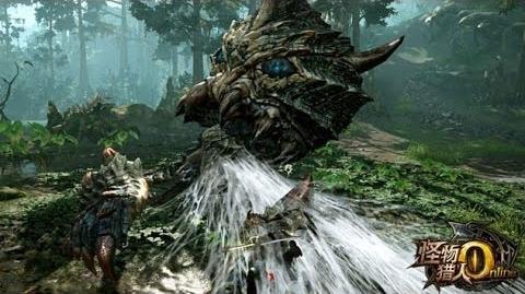 Monster Hunter Online New Monster Baelidae Gameplay