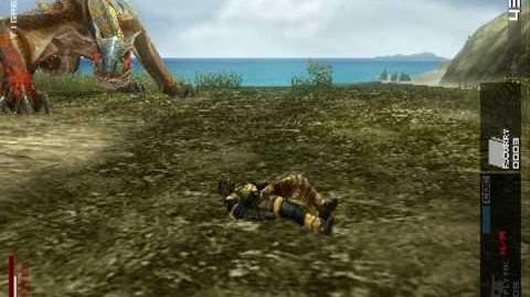 Metal Gear Solid Peace Walker Tigrex