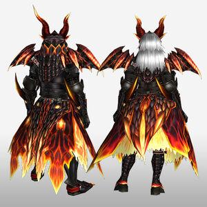 FrontierGen-Barukan G Armor (Blademaster) (Back) Render