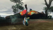 MH3U-Crimson Qurupeco Screenshot 001
