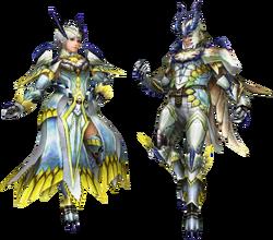 FrontierGen-Shagaru Armor (Blademaster) Render 001