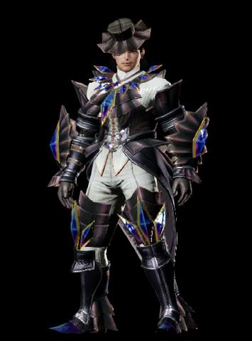 File:MHO-Akura Armor (Blademaster) (Male) Render 001.png