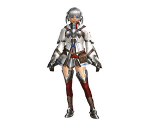 FrontierGen-Bande Armor (Female) (Both) (Front) Render 002