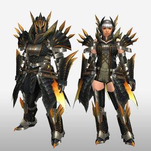 FrontierGen-Ruko Armor (Blademaster) (Front) Render