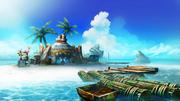 MH4U-Sunsnug Isle Screenshot 001