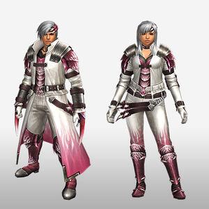 FrontierGen-Vuaisu Armor (Blademaster) (Front) Render