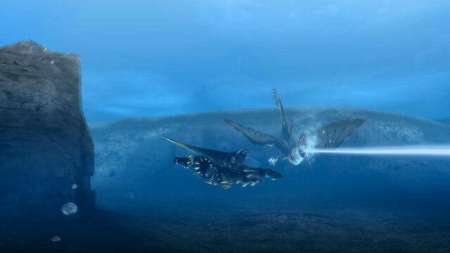 File:MH3U Plesioth waterbeam 2.jpg