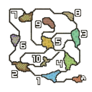 MH4U-Primal Forest Map