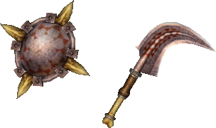 MHP3-Sword and Shield Render 003