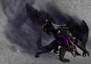 MH4U-Frenzied Gore Magala Wallpaper 001