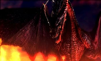 MH4U-Crimson Fatalis Screenshot 003