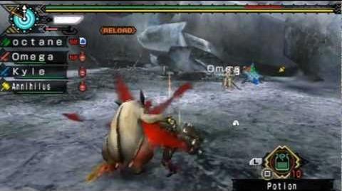 Monster Hunter Portable 3rd - Online Download Quest Mini Lagombi