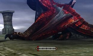 MH4U-Molten Tigrex Left Wing Break 002