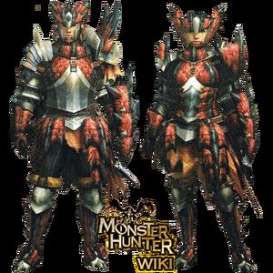 MH3-Rathalos Armor (Gunner) Render