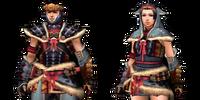 Arzuros Armor (Blademaster) (MH3U)