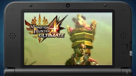 Monster Hunter 4 Ultimate Weapon Design Contest Winner (EU)