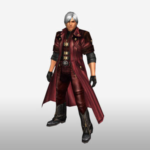 FrontierGen-Dante Armor 003 (Male) (Both) (Front) Render