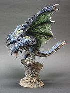 Capcom Figure Builder Creator's Model Azure Rathalos 001