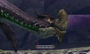 MH4U-Purple Gypceros Crest Break 002