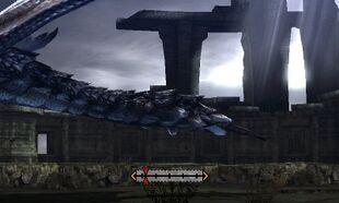 MH4U-Silver Rathalos Tail Break 001