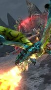 MHSP-Azure Rathalos Screenshot 001