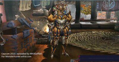 Tigrex armor