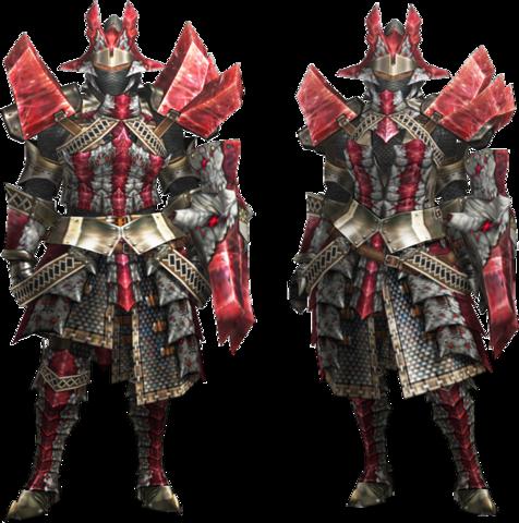 File:MH4U-Ruby Basarios Armor (Gunner) Render 001.png