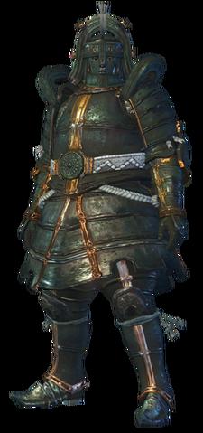 File:MHO-Shen Gaoren Armor (Gunner) (Male) Render 001.png