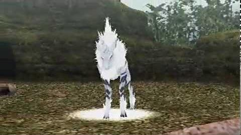 Monster Hunter Freedom - The Phantom Beast (Kirin intro)