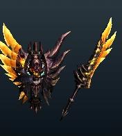 MH4U-Chaos Gore Magala Charge Blade