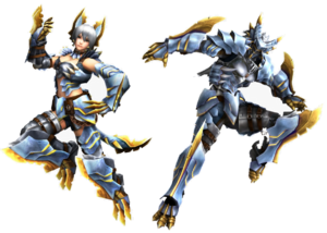 FrontierGen-Shiruti Armor (Both) Render 2