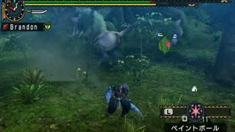 MHP2ndG - Green Congalala Babakonga Ashyu