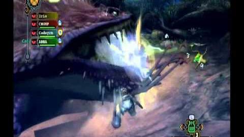 Monster Hunter Tri Giant Gobul