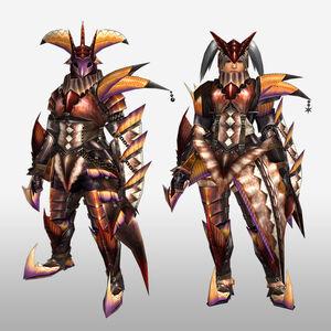 FrontierGen-Diboa Armor (Gunner) (Front) Render