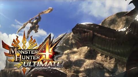 Monster Hunter 4 Ultimate - E3 2014 Trailer