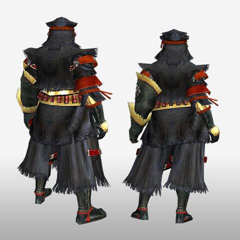 File:FrontierGen-Kuroko G Armor (Gunner) (Back) Render.jpg